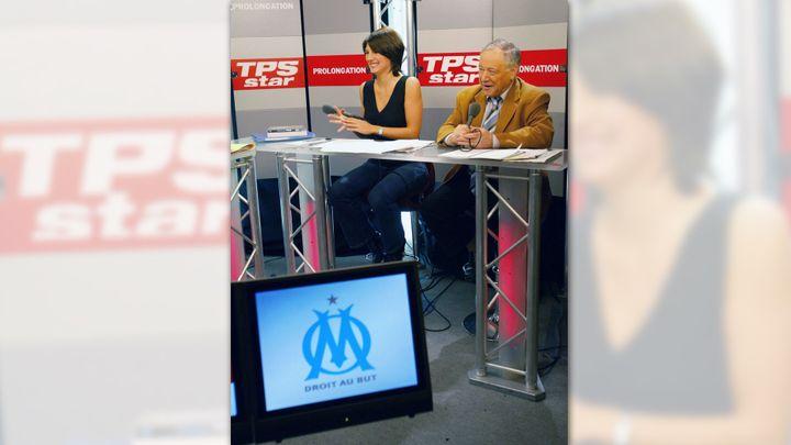 Premier concurrent de Canal+ sur le marché du football, TPS finira par être racheté par la chaîne à péage, puis disparaîtra. (VALERY HACHE / AFP)