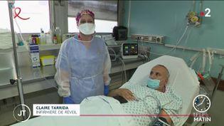 Claire Tarrida, infirmière de réveil. (France 2)