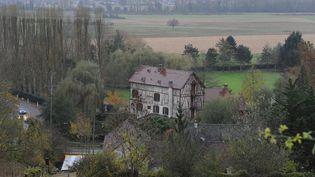 La résidence des Balkany à Giverny dans l'Eure. (BORIS MASLARD / MAXPPP)