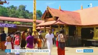 Le temple hindou de Sabarimala (France 3)