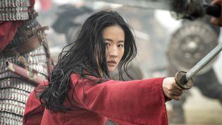 Yifei Liu dans Mulan. (2020 Disney Enterprises, Inc. All Rights Reserved. / Jasin Boland)