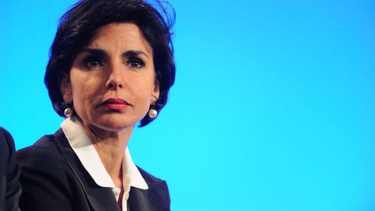 La maire du 7e arrondissement de Paris, Rachida Dati, lors de la présentation du projet présidentiel de l'UMP, le 6 décembre 2011. (WITT / SIPA)