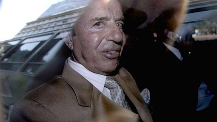 Carlos Menem à Buenos Aires en 2004 (© AFP Rolando Andrade)