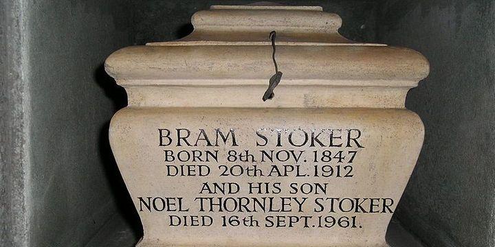 Urne de Bram et Noël Stoker  (DR)