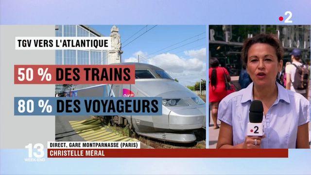 SNCF : 80% des voyageurs acheminés