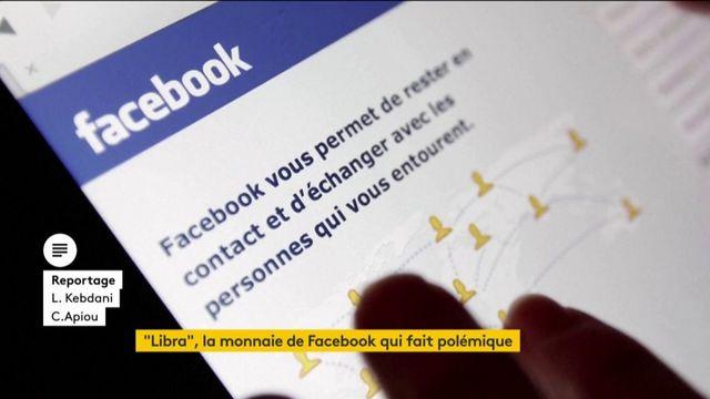 """Polémique autour de la monnaie """"Libra"""" lancée par Facebook"""