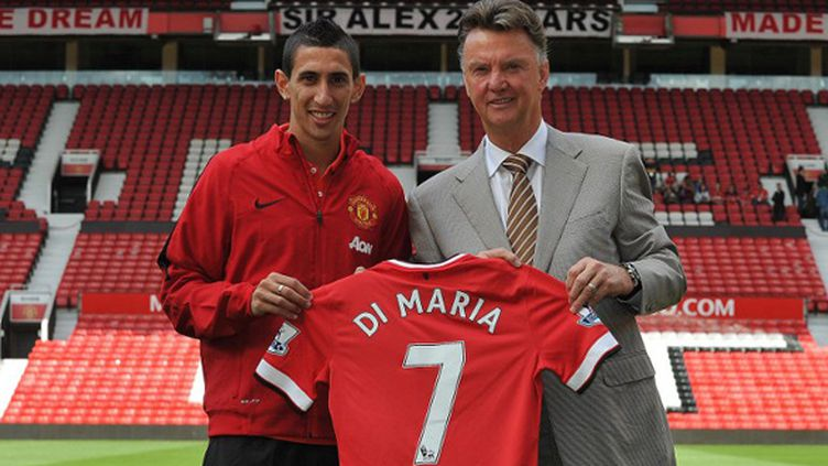 Angel Di Maria (Manchester United) (STEVE PARKIN / AFP)