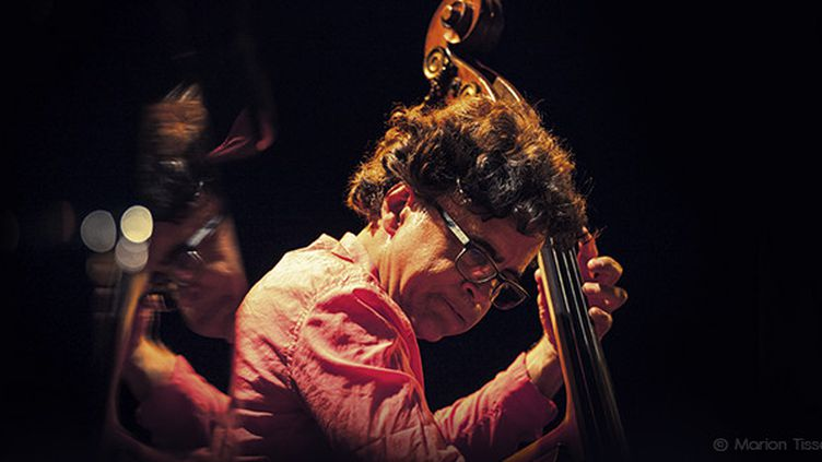 """Chico Freeman 4tet """"Spoken Into Existence"""" présente leur nouvel nouvel album sur la scène du Club de Minuit le 9 juillet 2015 - featuring Antonio Farao, Heiri Känzig, Michael Baker  (Marion Tisserand)"""