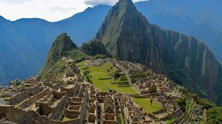 Le site du Machu Picchu au Pérou le 27 mai 2020. (MICHAEL PORTILLO / ONLY WORLD / AFP)