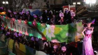 La tradition de Mardi gras, jour de carnavals, se déroule mardi 25 février. Un événement qui se tient à travers le globe, et notamment à la Nouvelle-Orléans (Louisiane, États-Unis). (FRANCE 2)