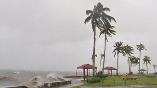 Les îles Fidji vont être frappées par le puissant cyclone Evan lundi 17 septembre 2012. (MINISTERE FIDJIEN DE L'INFORMATION / AFP)