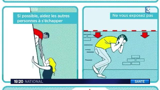 Attentats : une affiche pour former aux gestes qui sauvent