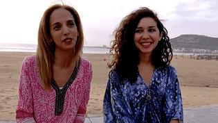 """Touria Benzari et Sofia Manousha, la réalisatrice et la comédienne de """"Ta mère""""  (France 3 / Culturebox)"""