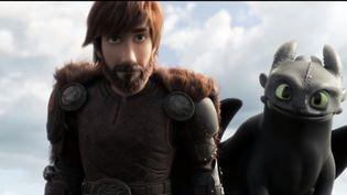"""Le troisième volet du film d'animation """"Dragon 3 : Le monde caché"""" sort cette semaine. Une plongée dans l'univers des Vikings et des dragons. (FRANCE 3)"""