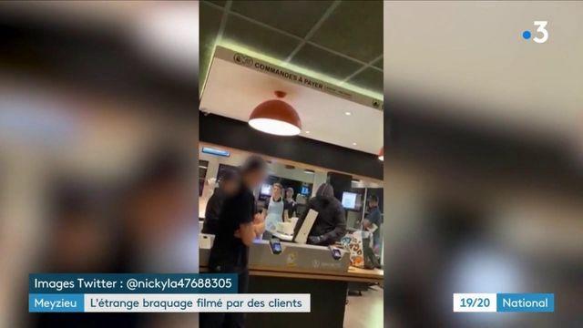 Rhône : un étrange braquage filmé par des clients