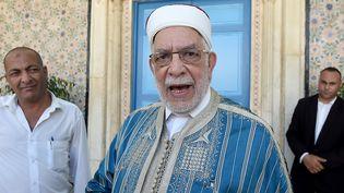 Abdelfattah Mourou à Tunis le 25 juillet 2019 (FETHI BELAID / AFP)