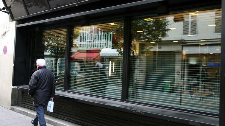 """L'ancien siège de """"Libération"""", à Paris, le 21 novembre 2005. (JEAN-PIERRE MULLER / AFP)"""