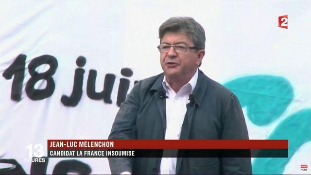 Législatives 2017 : à Marseille, fin de campagne pour Mélenchon et Versini