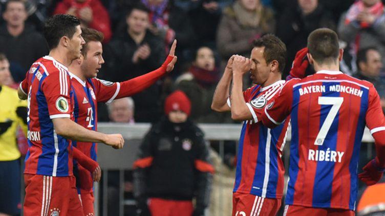 Le Bayern Munich a été intraitable (LUKAS BARTH / ANADOLU AGENCY)