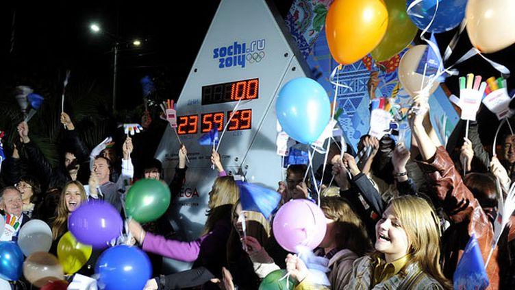 Le public russe a célébré le J-100