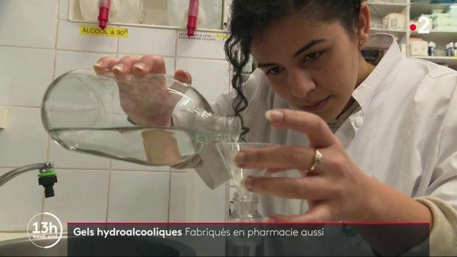 Covid-19 : les pharmacies vont pouvoir produire leur propre gel hydroalcoolique