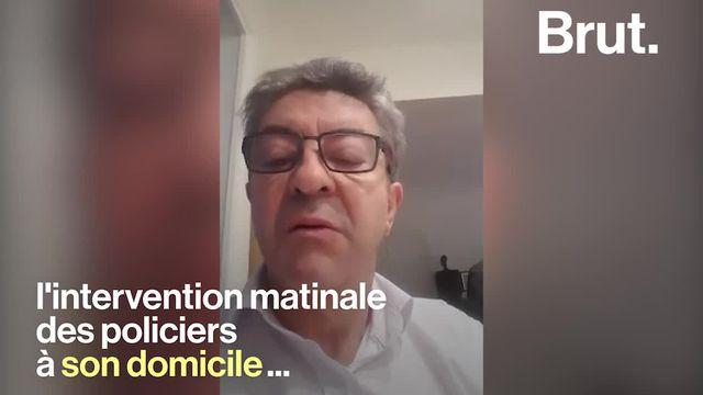Une quinzaine de perquisitions ont eu lieu ce mardi 16 octobre dans le cadre de deux enquêtes. Jean-Luc Mélenchon a réagi en direct sur Facebook avant de s'exprimer devant le siège de son parti, la France Insoumise.