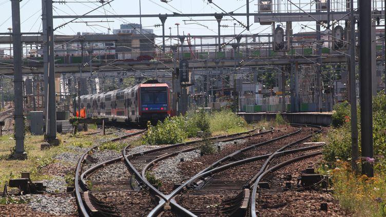 En cas de fortes chaleurs les rails se dilatent. (OLIVIER BOITET / MAXPPP)