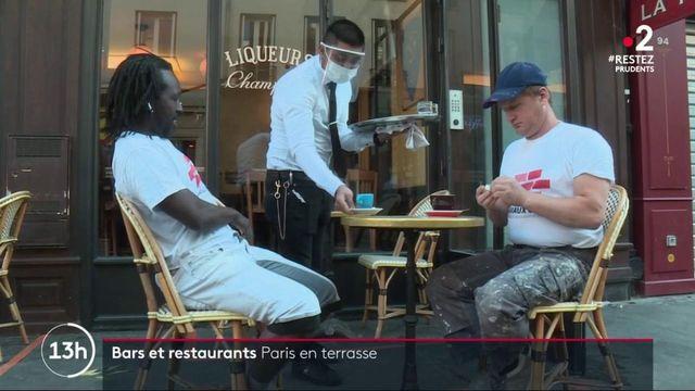 Déconfinement : jour-J pour les cafetiers et restaurateurs