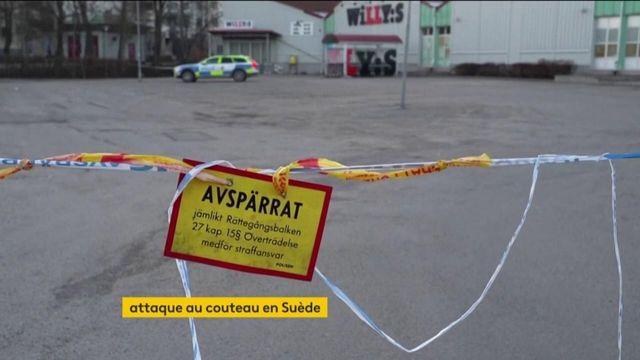Suède : huit blessés après une attaque au couteau, des motivations terroristes suspectées