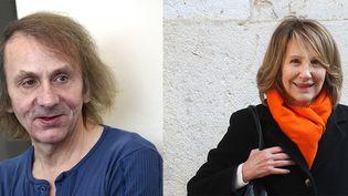 Michel Houellebecq et Nathalie Baye  (AGF/SIPA (Houellebecq) ALAIN ROBERT/SIPA (Baye))
