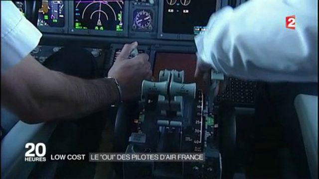 """Low cost : le """"oui"""" des pilotes d'Air France"""