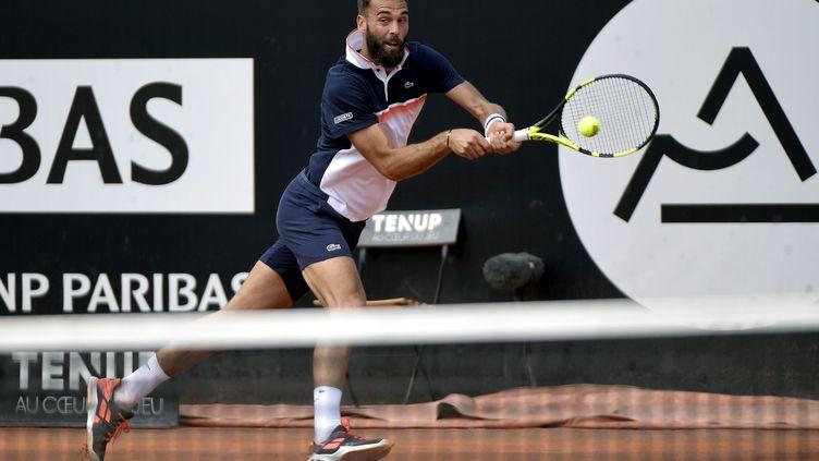 Benoît Paire lors du tournoi de Lyon en mai 2019. (PHOTO MAXIME JEGAT / MAXPPP)