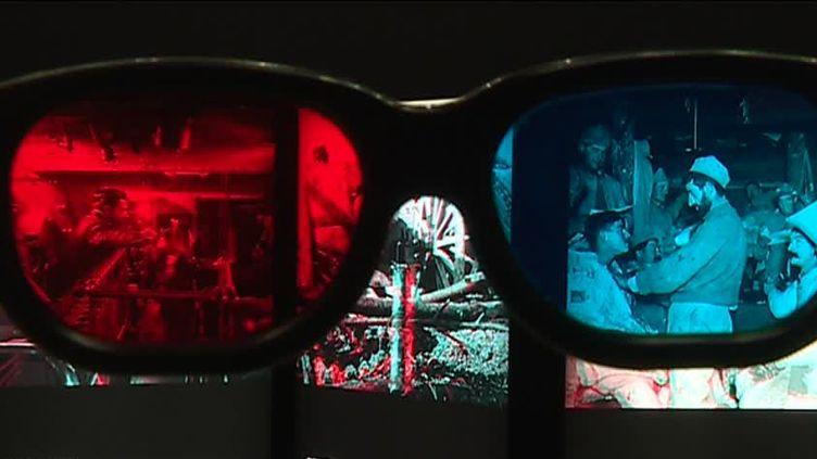 """Exposition """"La Grande Guerre en 3D""""  (France 3 / culturebox / capture d'écran)"""