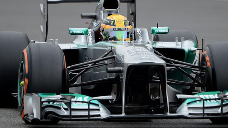 Lewis Hamilton (JOHN THYS / AFP)