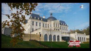 COMPLÉMENT D'ENQUÊTE/FRANCE 2. Château Louveciennes, copie Vaulx-le-Vicomte (COMPLÉMENT D'ENQUÊTE/FRANCE 2)