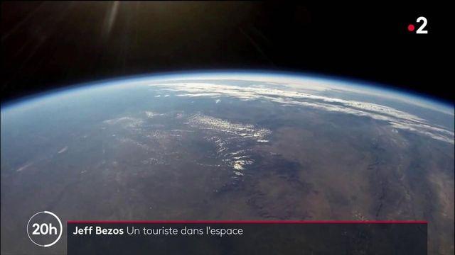 Tourisme spatial : Jeff Bezos annonce le premier vol de sa fusée Blue Origin