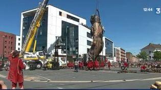 À l'occasion des 500 ans du Havre (Seine-maritime), un défilé de Géants dans les rues de la ville a été organisé entre le 7 et le 9 juillet. Un spectacle populaire créé en 1993. (FRANCE 3)