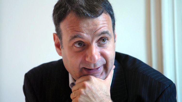 Bruno Cautrès, le 15 mai 2009. (DLABORDE / NRCO MAXPPP)