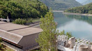 Une photo de la centrale hydraulique de Grand'Maison, le 11 mai 2007 (JEAN-PIERRE CLATOT / AFP)