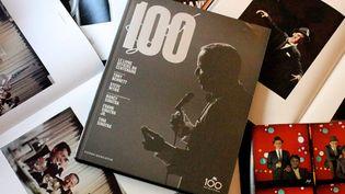 """Le livre """"Sinatra 100"""" de Charlie Pignone, sorti aux éditions Fonds Mercator  (Agence Anne & Arnaud)"""