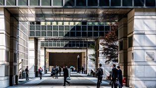 A Bercy, au ministère de l'Economie et des Finances, à Paris, en septembre 2016. (GARO / PHANIE / AFp)