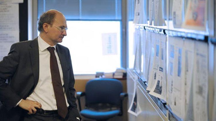 Eric Fottorino, président du directoire du Monde (AFP - Stephane de Sakutin)
