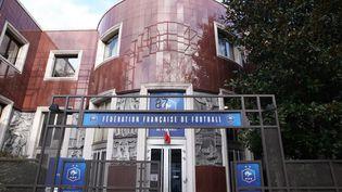 Le siège de la Fédération française de football, en 2018. (OLIVIER BOITET / MAXPPP)