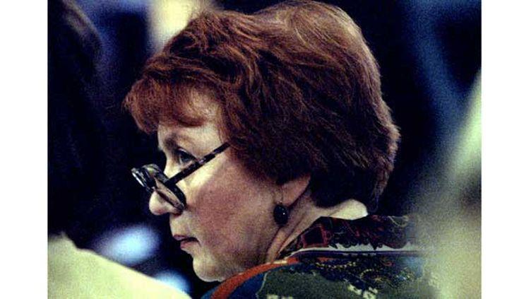 (Rufina Philby, la femme de l'espion britannique Kilm Philby, en 1994, à Moscou. © Russel Boyce/Reuters)
