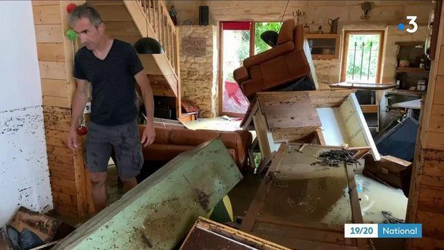 Orage : une partie du Sud-Ouest de la France envahi par les eaux