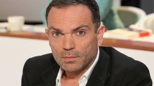 """L'auteur Yann Moix, le 12 septembre 2013, dans l'émission """"Au Field de la nuit"""", sur TF1. (SIPA)"""