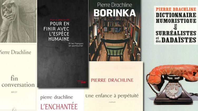 Quelques uns des livres de Pierre Rachline  (Le Cherche-Midi)