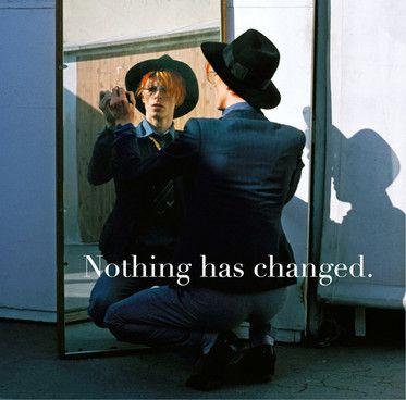"""David Bowie : l'une des trois pochettes de """"Nothing has changed"""".  (DR)"""