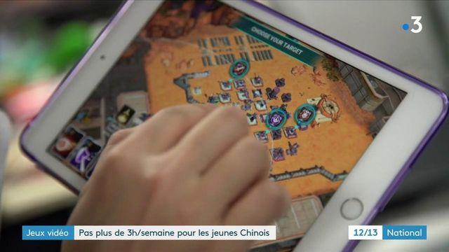 Jeux vidéo : la Chine limite la pratique en ligne à 3 heures par semaine pour les mineurs