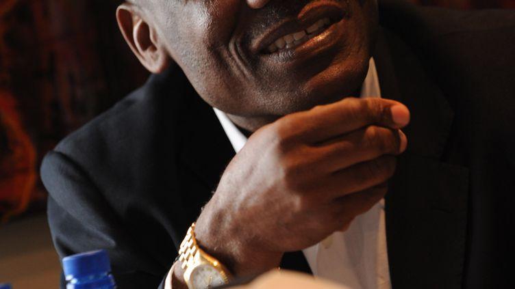 Joseph-Antoine Bell, Franco-Camerounais, ancien gardien de but notamment à l'OM et aux Girondins de Bordeaux, le 4 décembre 2009. (ALEXANDER JOE / AFP)